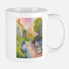 SWIM BEACH MONHEGAN Mugs