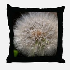 Wishing Flower Throw Pillow