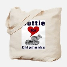 Nuttie For Chipmunks Tote Bag