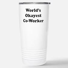 Cool Super mom teacher Travel Mug