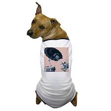 Umbrella Girl Dog T-Shirt