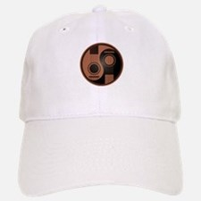 Brown and Black Yin Yang Acoustic Guitars Hat