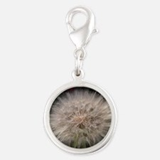 Gone to Seed Silver Round Charm