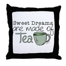 Made of Tea Throw Pillow