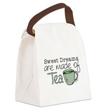 Made of Tea Canvas Lunch Bag