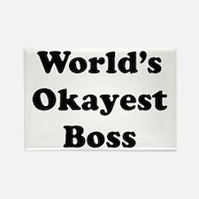 World's Okayest Boss Magnets