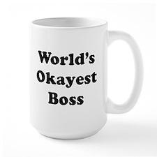 World's Okayest Boss Mugs
