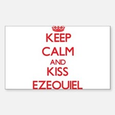Keep Calm and Kiss Ezequiel Decal