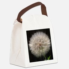 Wishing Flower Canvas Lunch Bag