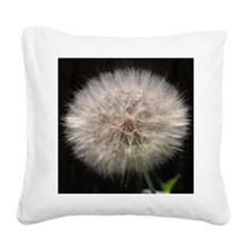 Wishing Flower Square Canvas Pillow