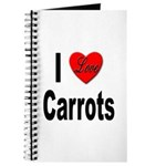 I Love Carrots Journal