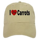 I Love Carrots Cap