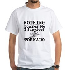 Nothing Scares Me I Survived Tornado T-Shirt