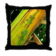 Gold Dust Geckos Throw Pillow