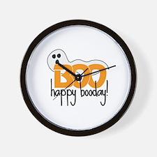 Happy Booday! Wall Clock