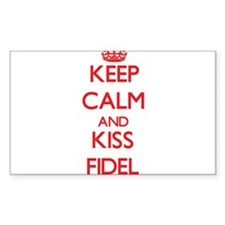 Keep Calm and Kiss Fidel Decal