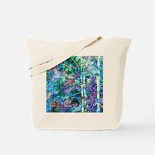 Dragonflies Forest Light Tote Bag