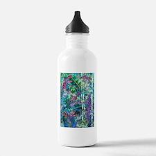 Dragonflies Forest Light Sports Water Bottle