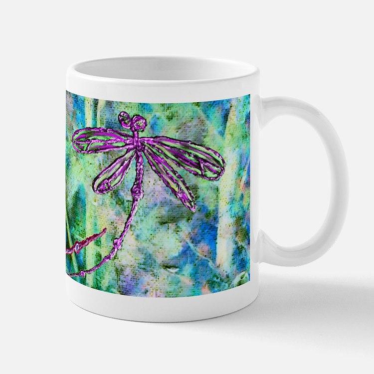 Dragonflies Forest Light Mugs