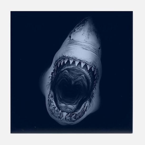 Shark Bite Tile Coaster