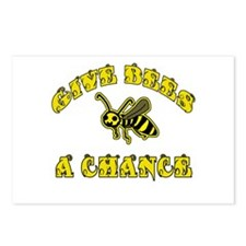 Give Bees a Chance Postcards (Package of 8)
