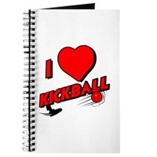 I LOVE KICKBALL Journal