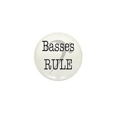 Basses Rule Mini Button (10 pack)