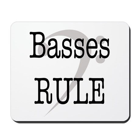 Basses Rule Mousepad
