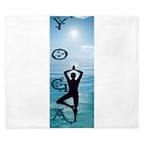 Yoga King Duvet Covers