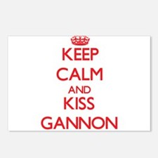Keep Calm and Kiss Gannon Postcards (Package of 8)