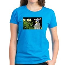 EASTER LAMB AND FLOWERS 2 T-Shirt