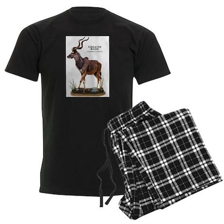 Greater Kudu Men's Dark Pajamas
