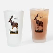 Greater Kudu Drinking Glass