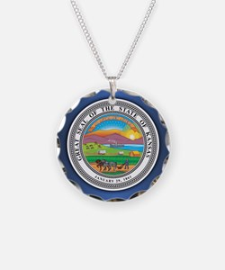 Kansas Seal.png Necklace