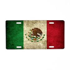 Mexico Aluminum License Plate