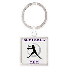 Softball Mom tshirt Keychains