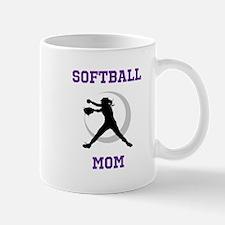Softball Mom tshirt Mugs