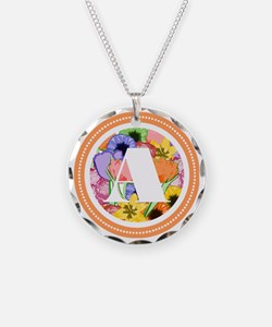 Cool Avery Necklace Circle Charm