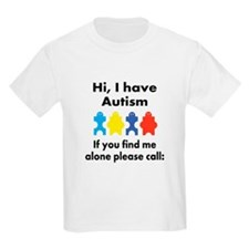 Autism Contact Number - Emergency T-Shirt