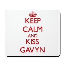Keep Calm and Kiss Gavyn Mousepad