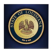 Louisiana Seal.png Tile Coaster