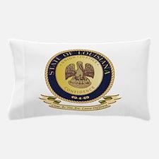 Louisiana Seal.png Pillow Case