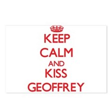 Keep Calm and Kiss Geoffrey Postcards (Package of