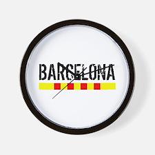 Catalunya: Barcelona Wall Clock