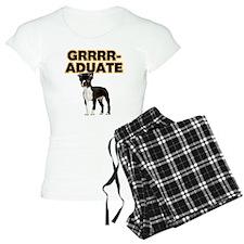 Graduation Boston Terrier Pajamas