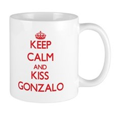 Keep Calm and Kiss Gonzalo Mugs