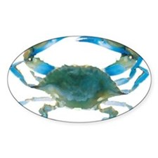 Cute Blue crab Decal
