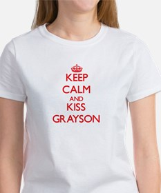 Keep Calm and Kiss Grayson T-Shirt