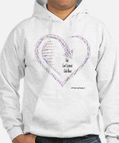 Custody To Abusers = Child Abuse Hoodie