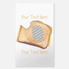 YOUR FACE Grilled Cheese Sandw Decal